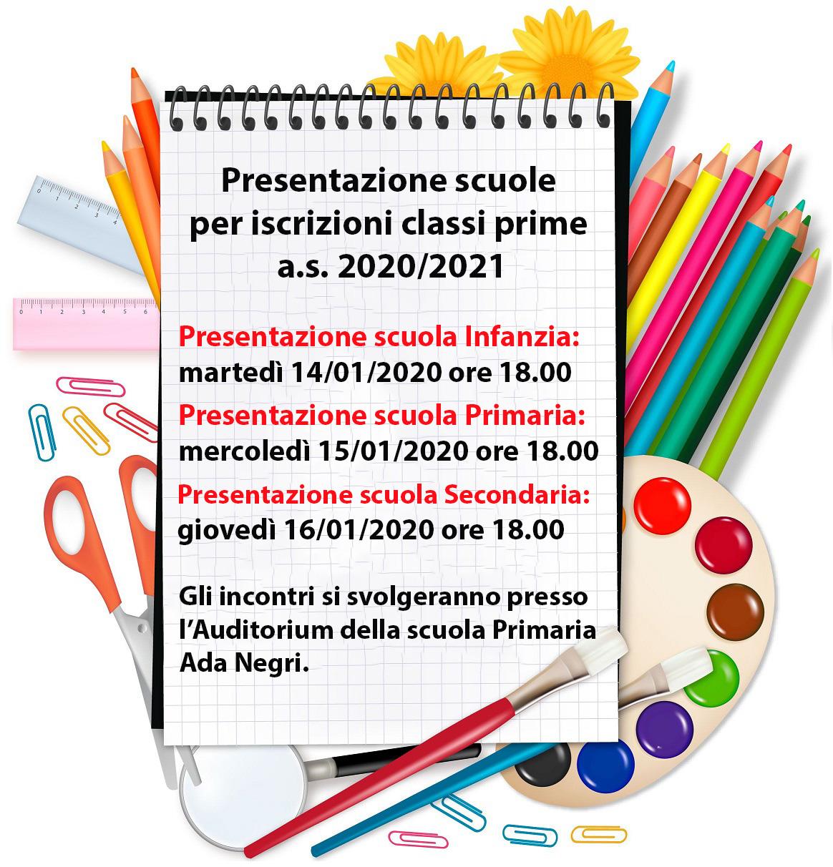 Presentazione delle scuole