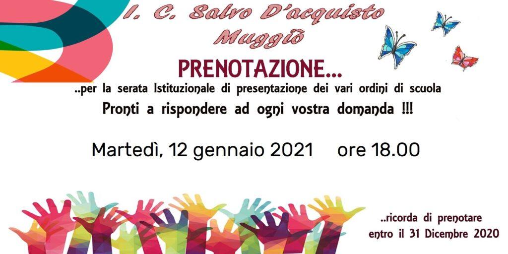 Banner invito presentazione